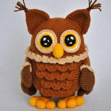 Мастер-класс по вязанию игрушки: Сова