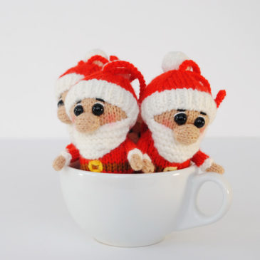 Вязаный Дед Мороз