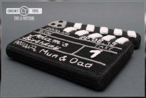 Crochet Clapperboard