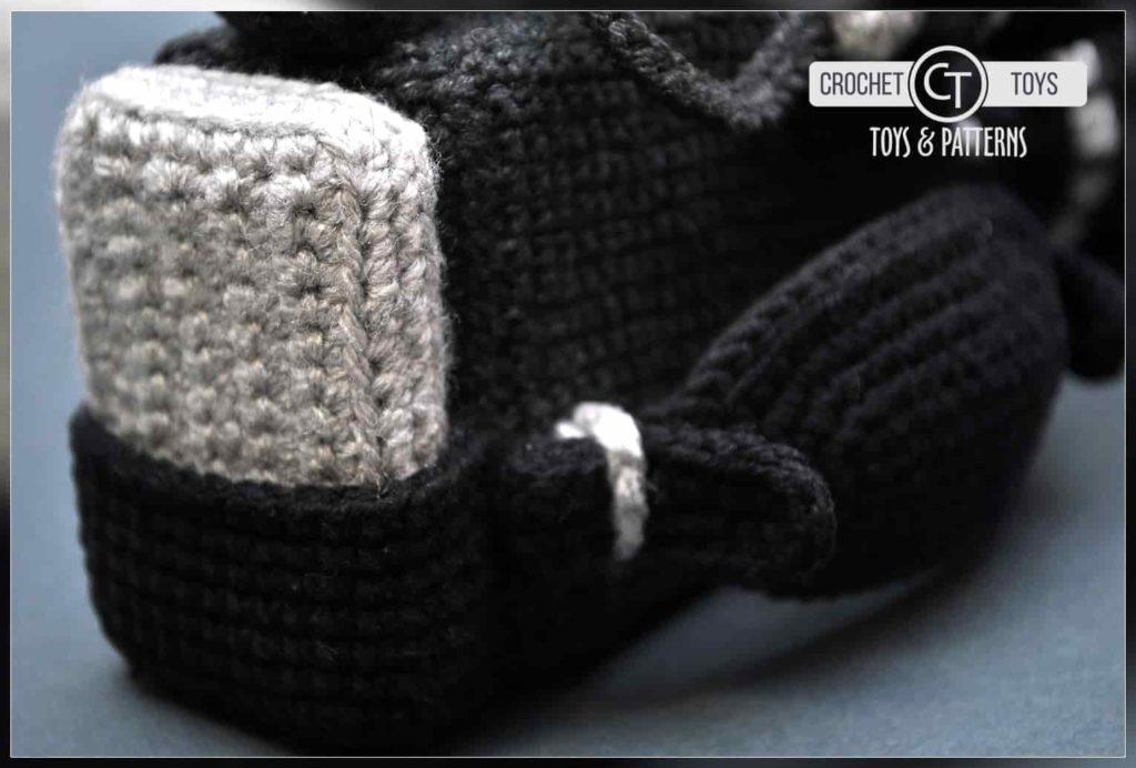 Crochet video camera