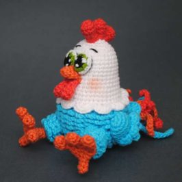 Crochet chicken