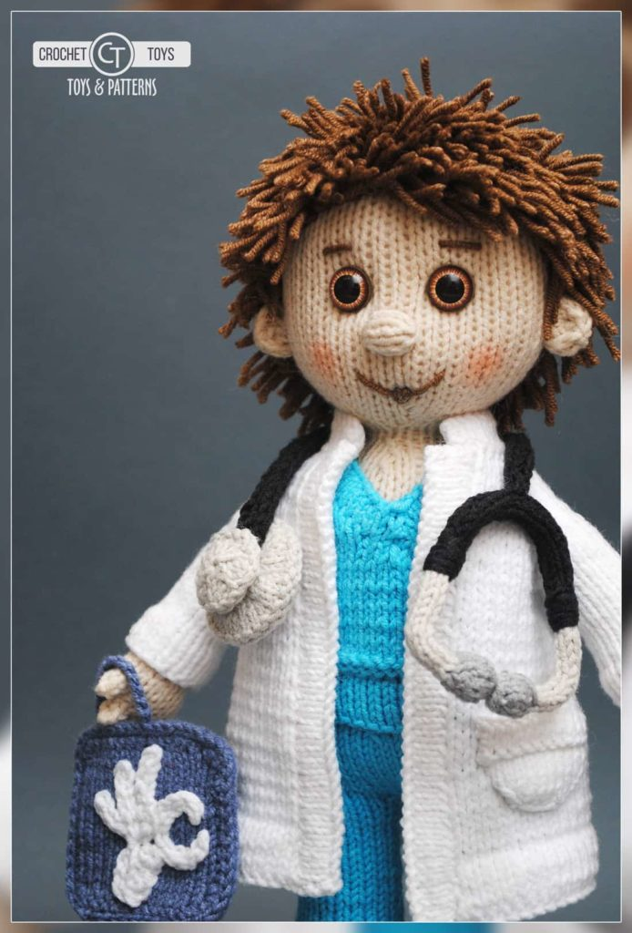 Crochet doll doctor