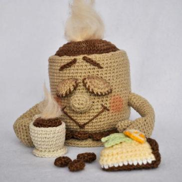 Crochet Pattern Double Coffee