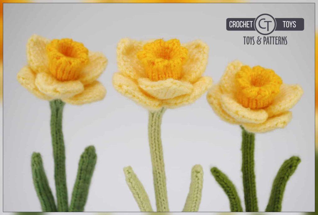 Crochet Flower Pattern Narcissus