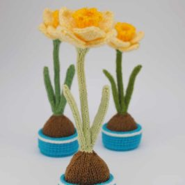 Crochet Flower Pattern Narcissus