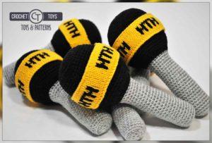Crochet microphone