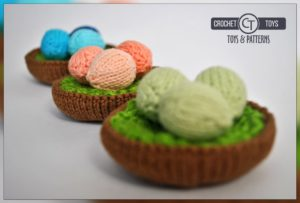 Crochet nest