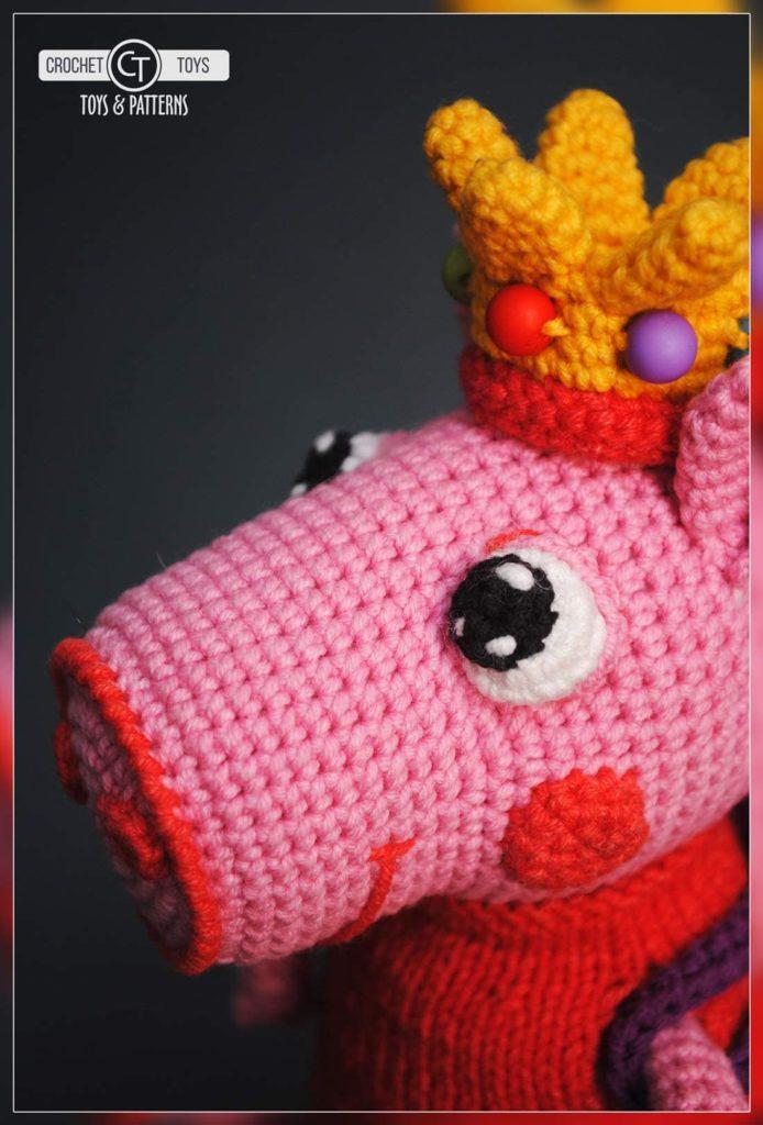 Crochet Peppa Pig