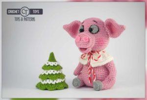 Сrochet pig