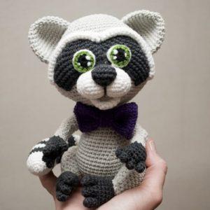 Сrochet raccoon
