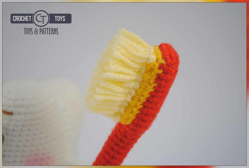 Crochet Pattern Tooth