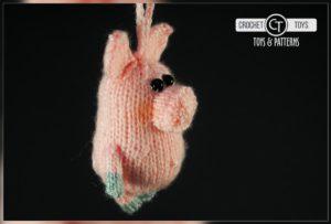 Crochet pattern piggy
