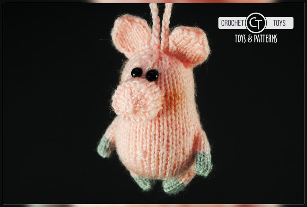 Crochet pattern piggy