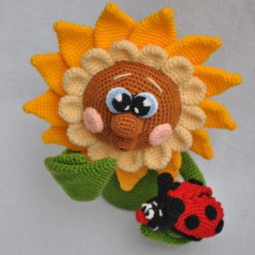 Crochet pattern Sunflower