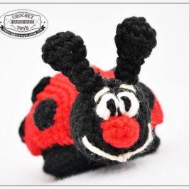 Crochet ladybird