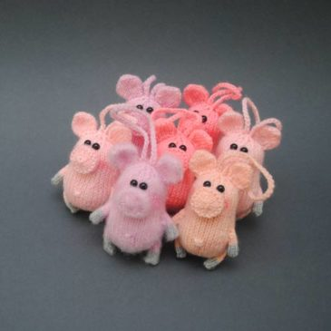 Knitting Pattern Piggy