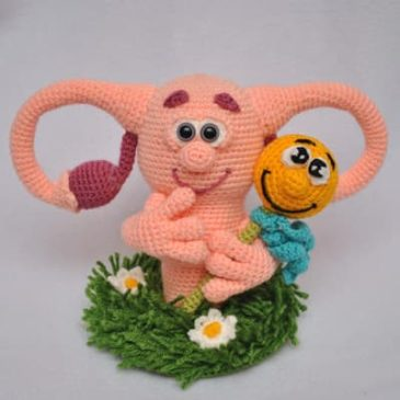 Crochet Pattern Uterus