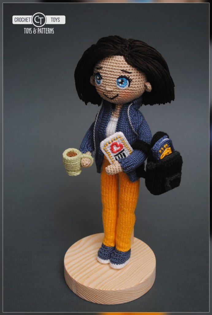 Crochet doll Traveler