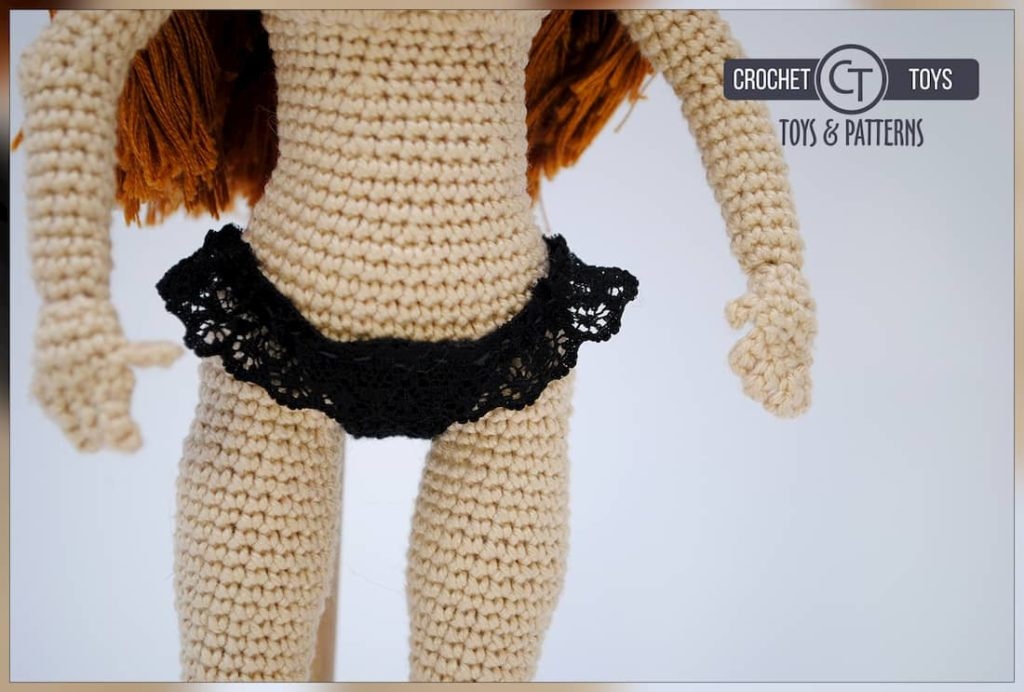 Redhair Crochet doll
