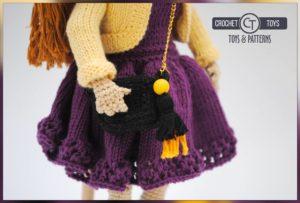 Redhair Crochet doll