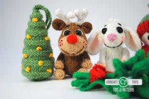 Crochet Christmas toys