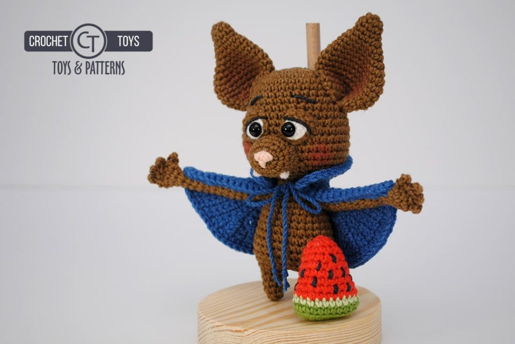 My Love Crochet - Halloween Amigurumi Bat - Free Crochet... | Facebook | 685x1024
