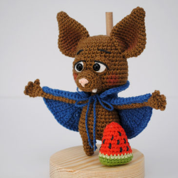 Amigurumi Crochet Pattern Bat