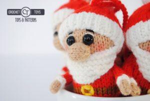 Knitted Santa Claus