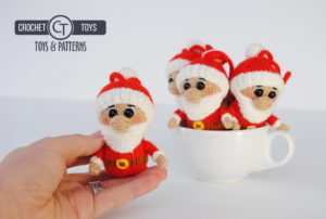 Knitted Santa Claus
