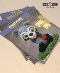 Crochet Pattern Raccoon