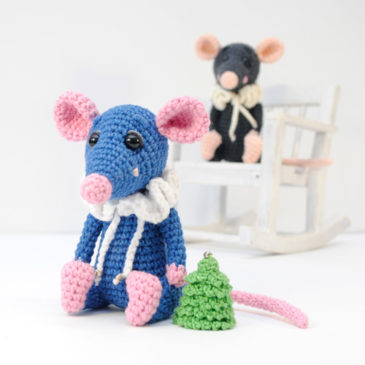 Amigurumi Crochet Pattern Rat
