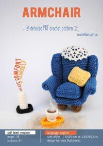 Crochet armchair