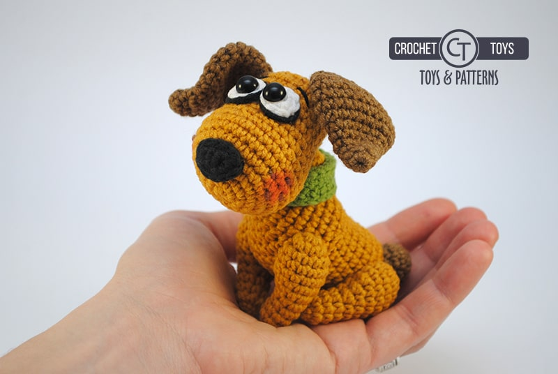 11 Amigurumi Dog Crochet Patterns – Cute Puppies in 2020 | Crochet ... | 536x800