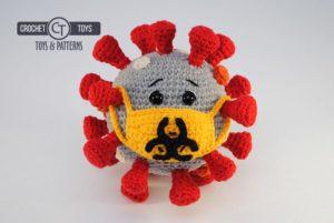 Crochet coronavirus