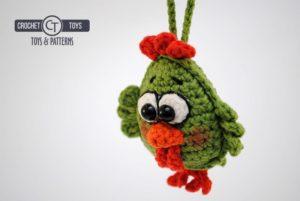 Crochet pattern little chicken
