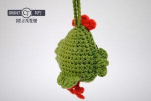 Crochet pattern little chicken