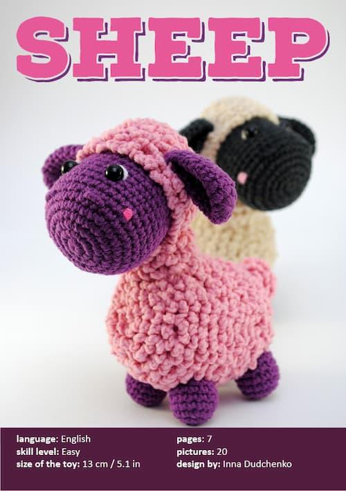 crochet pattern Sheep