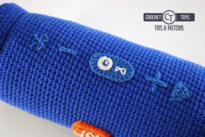 Amigurumi Crochet jbl speaker