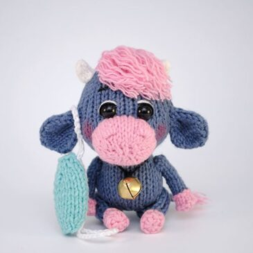 Amigurumi Knitted Bull Toy